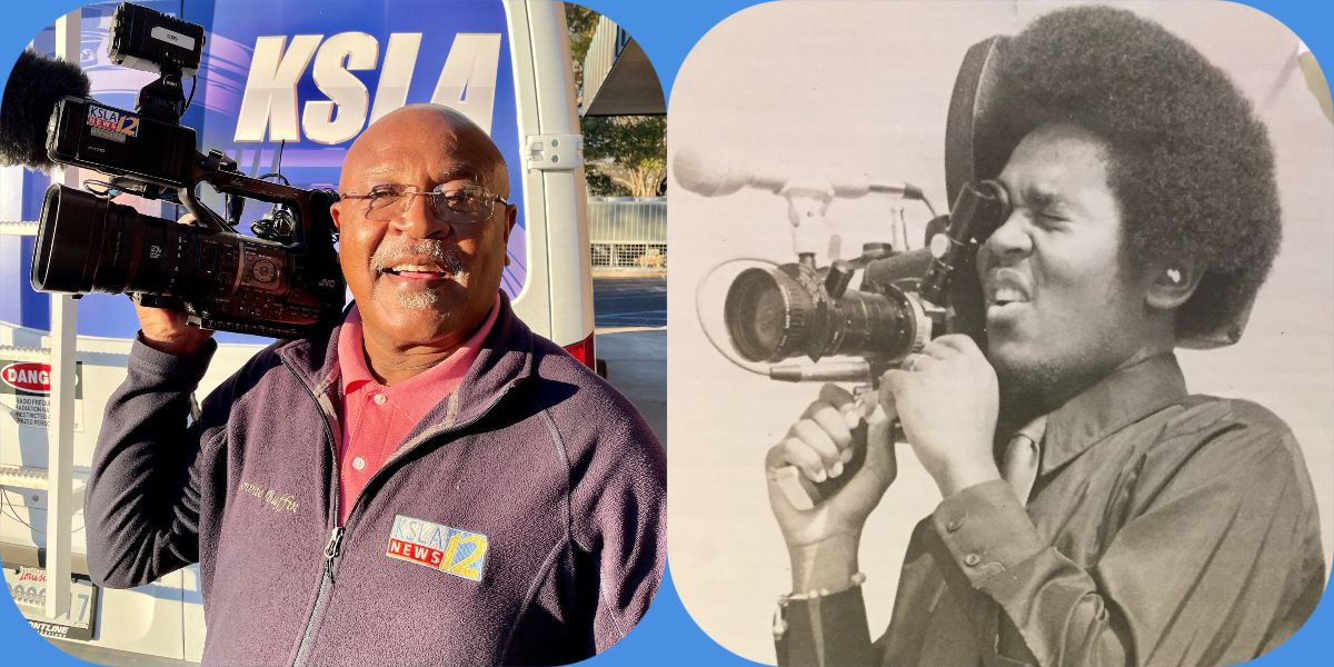 KSLA Chief Photographer Semmie Buffin retires