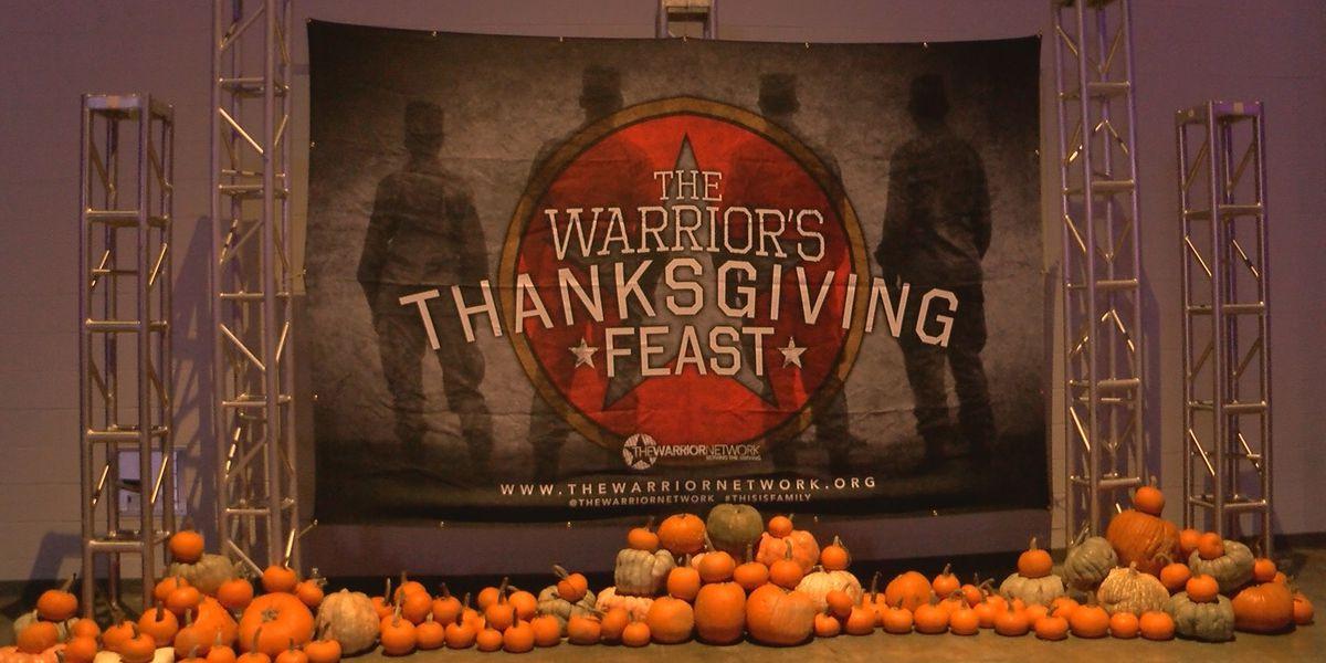 Shreveport and Bossier City military families receive Thanksgiving dinner