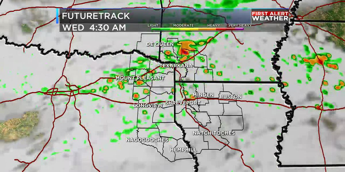 FIRST ALERT: A few strong storms possible overnight