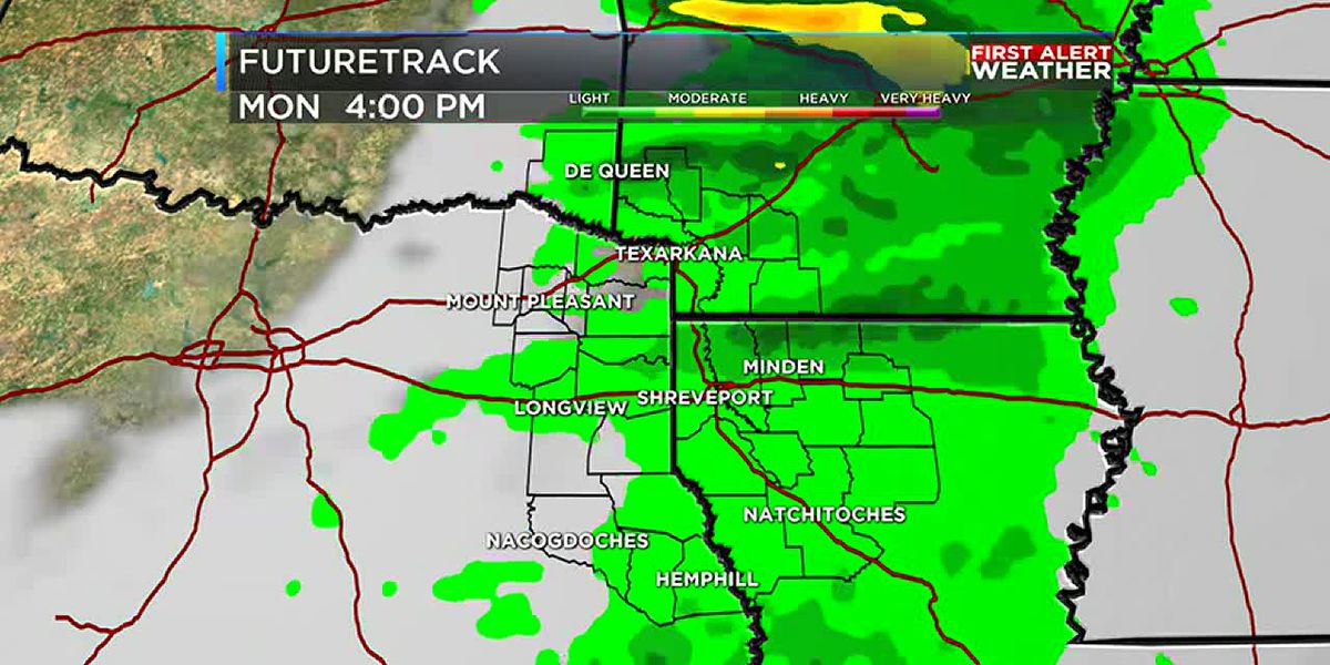 Dry weekend with rain on its way next week