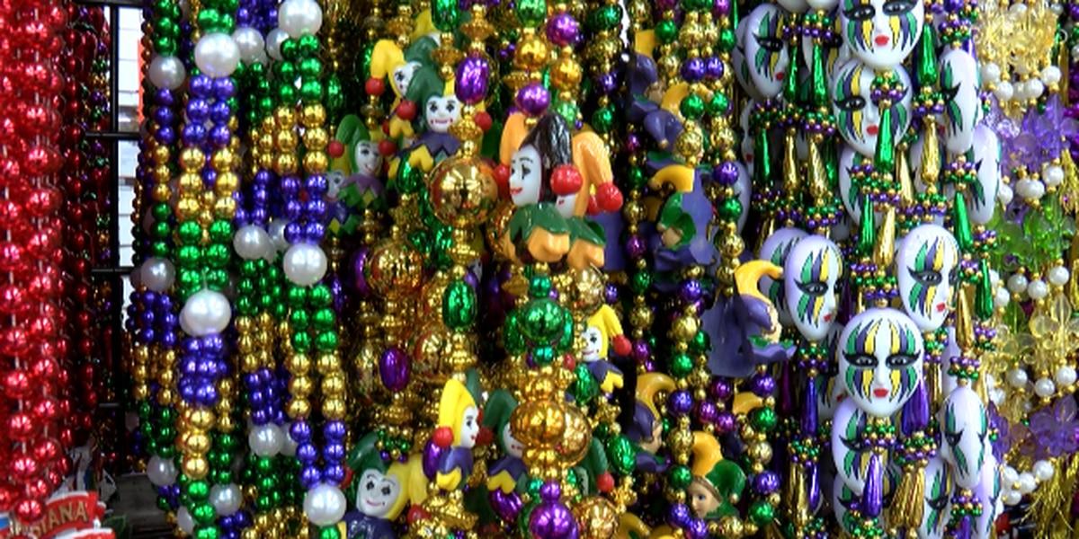 Economic impact of approaching Mardi Gras parades