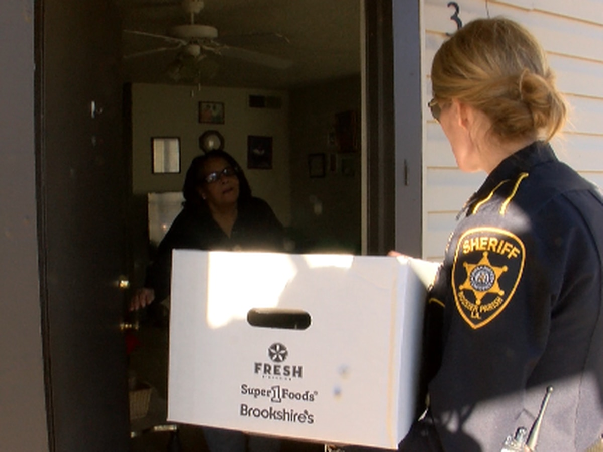 Bossier Parish Sheriff's Office delivers holiday spirit
