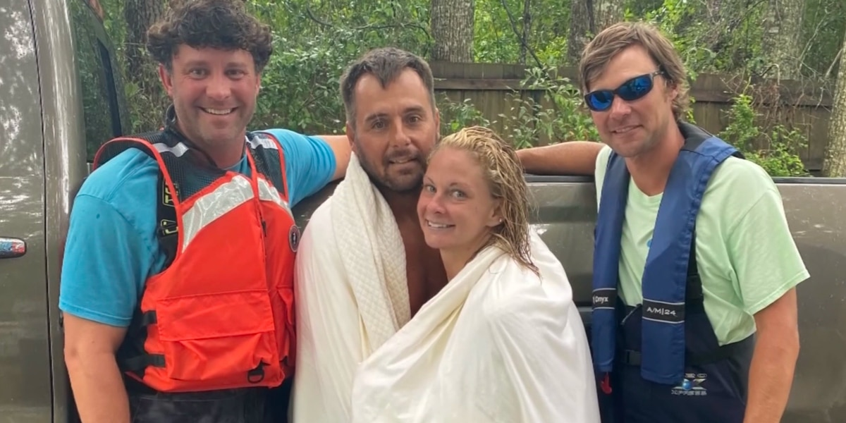 """""""I was just in Lake Pontchartrain"""": Two boaters rescued after clinging to a life vest in a tropical storm"""