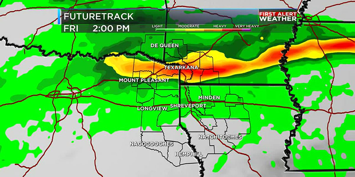 Multiple chances for rain this week