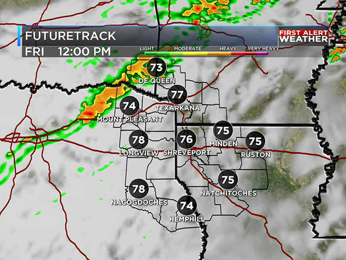 First Alert! Cooling down a little for the weekend