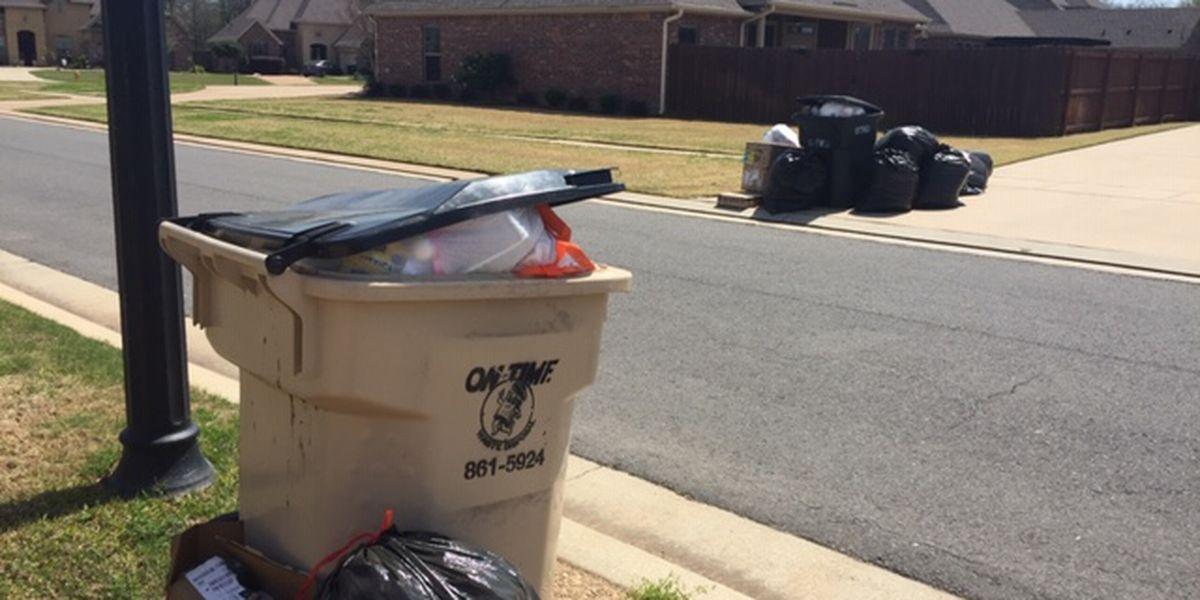 Trash pickup company closure affects 2,200 customers