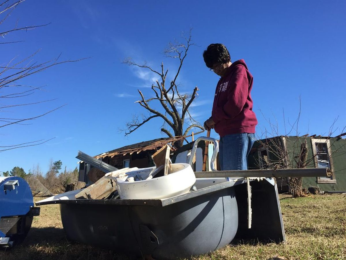 75-year-old, Son Recall Riding ETX Tornado In A Bathtub