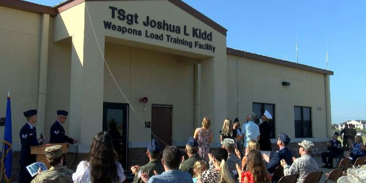 Barksdale AFB facility officially named after Tech Sgt. Joshua Kidd