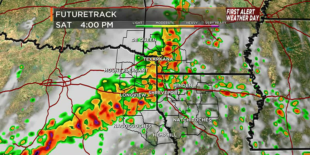 First Alert Weather Day Saturday: Severe storms possible
