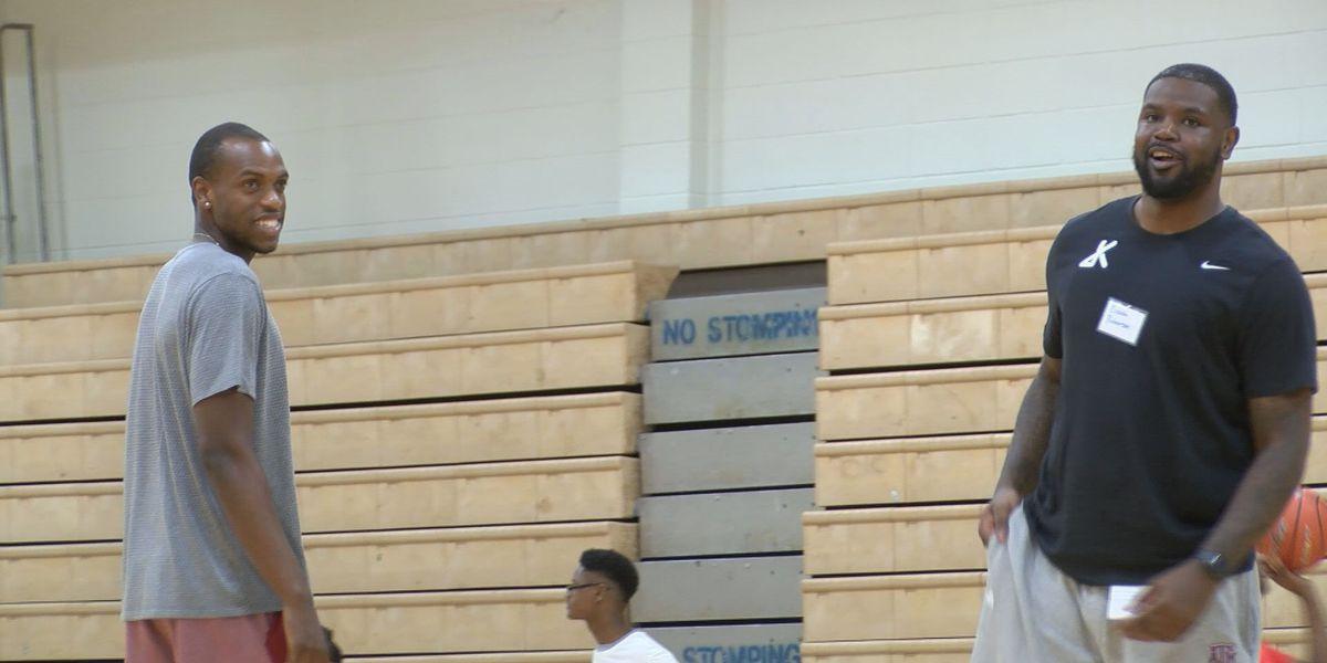 Good times at the Khris Middleton Basketball Camp