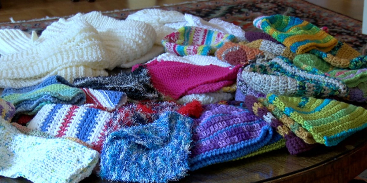 WEBXTRA: Tyler church group knits to support East Texas causes
