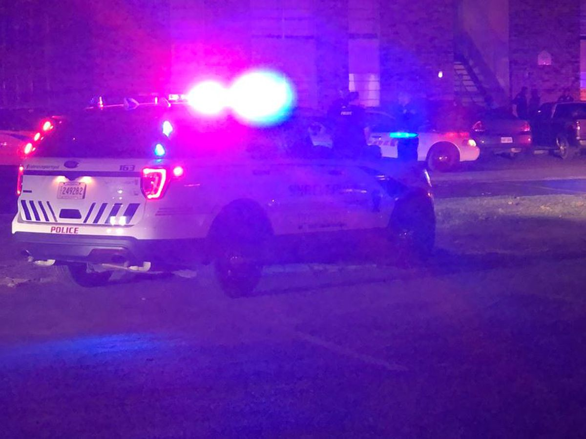Man is shot when he walks out of his apartment