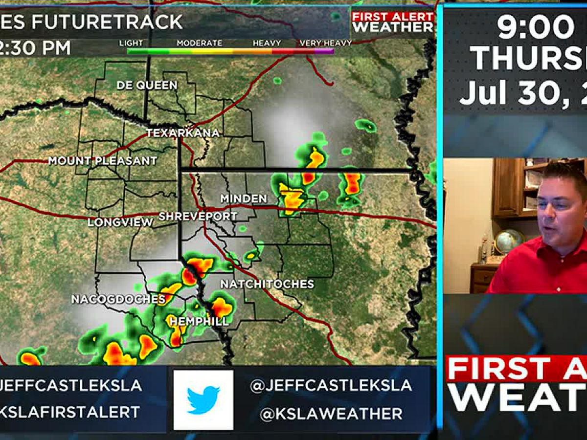 First Alert: Cold front brings storms and some heat relief