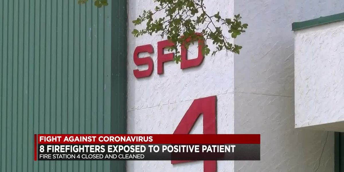 Shreveport firefighters exposed to COVID-19 patient
