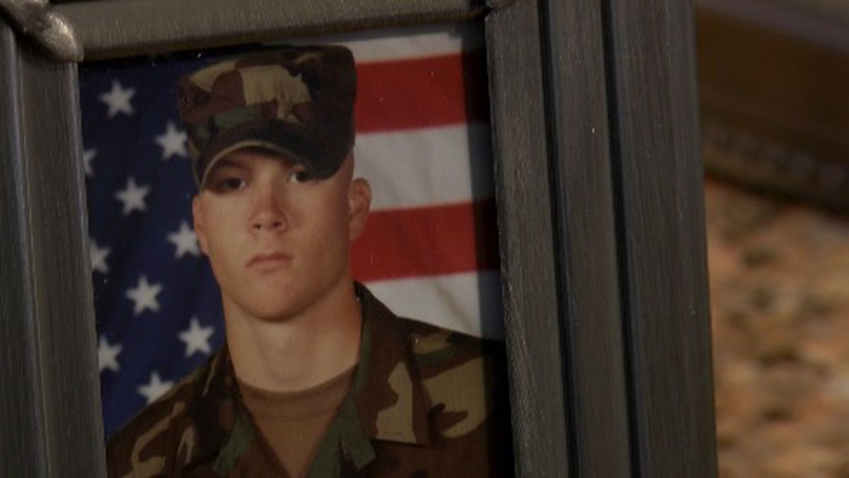 KSLA Salutes : Honoring the late Army Sgt . Craig Nelson