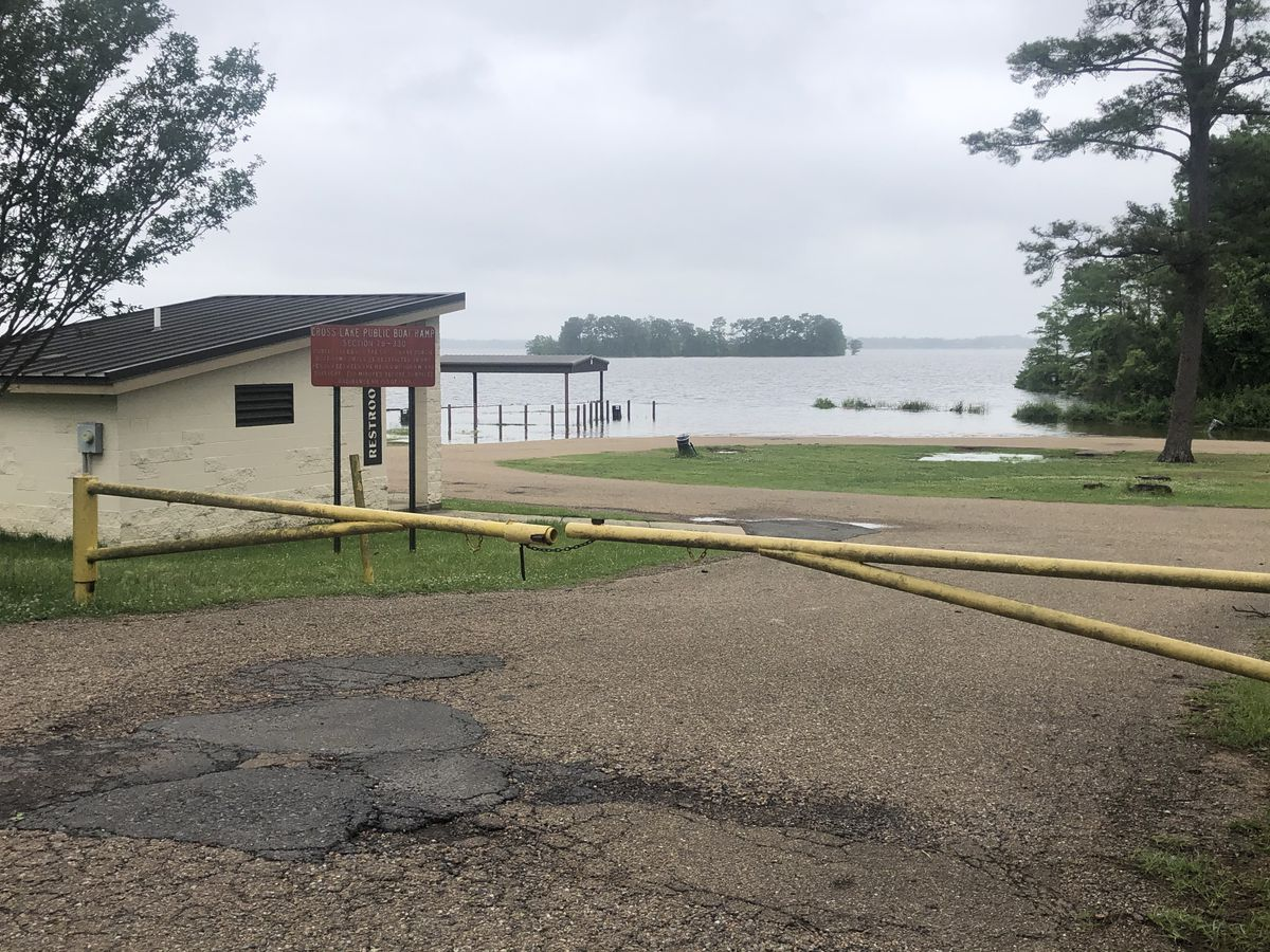 Cross Lake closed for boaters due to high water levels