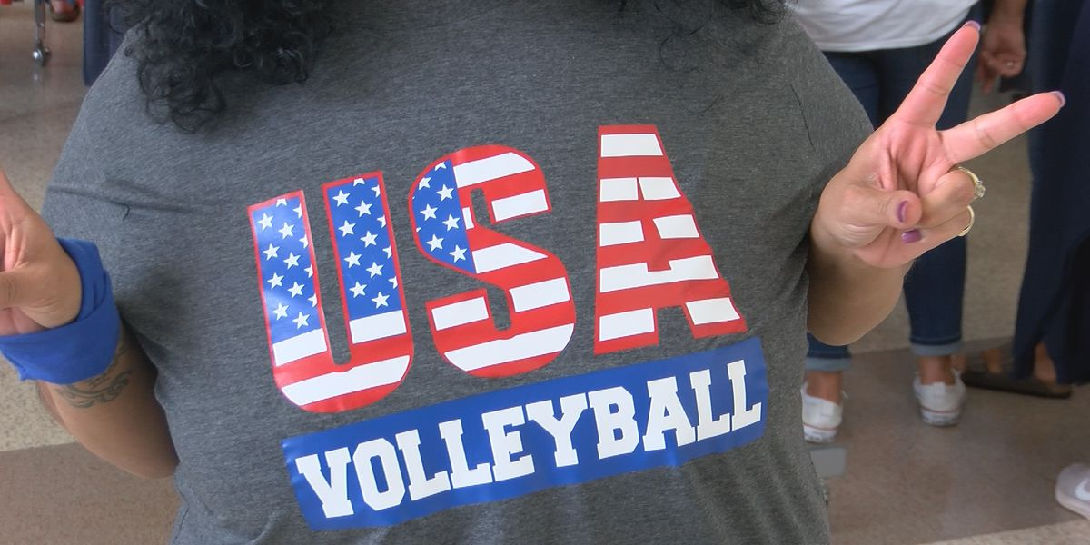 Volleyball Olympic qualifier draws international crowd to Shreveport-Bossier City