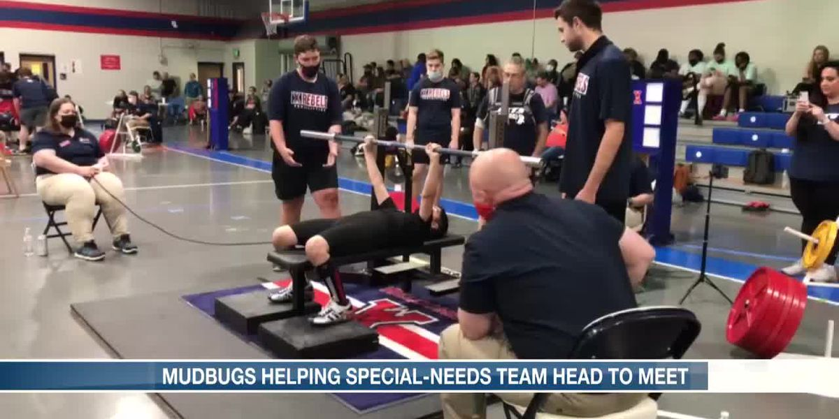 Mudbugs helping special-needs team head to meet