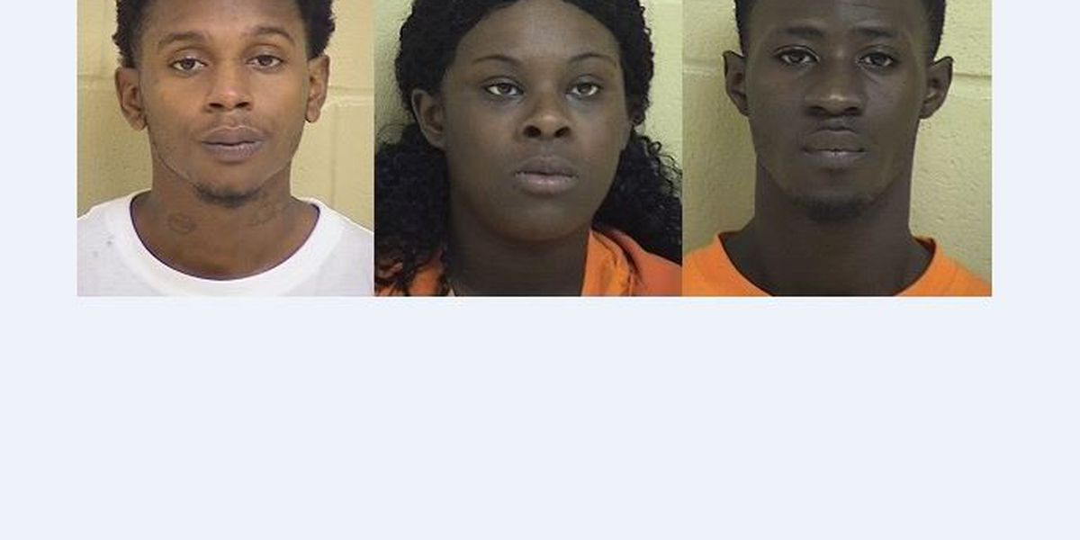 Three arrested, accused of series of armed robberies