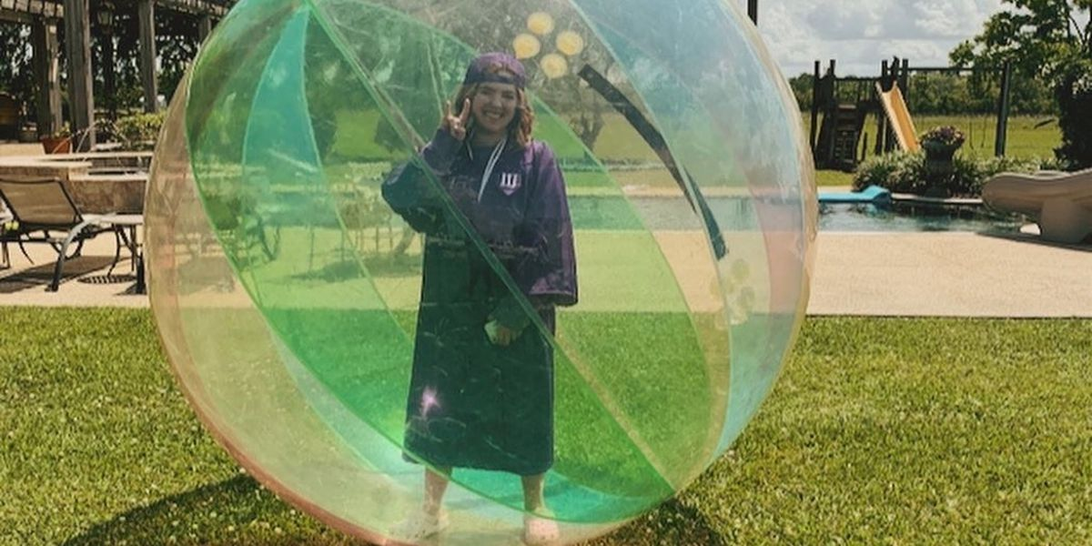 NSU grad 'rolls' with virtual commencement ceremony