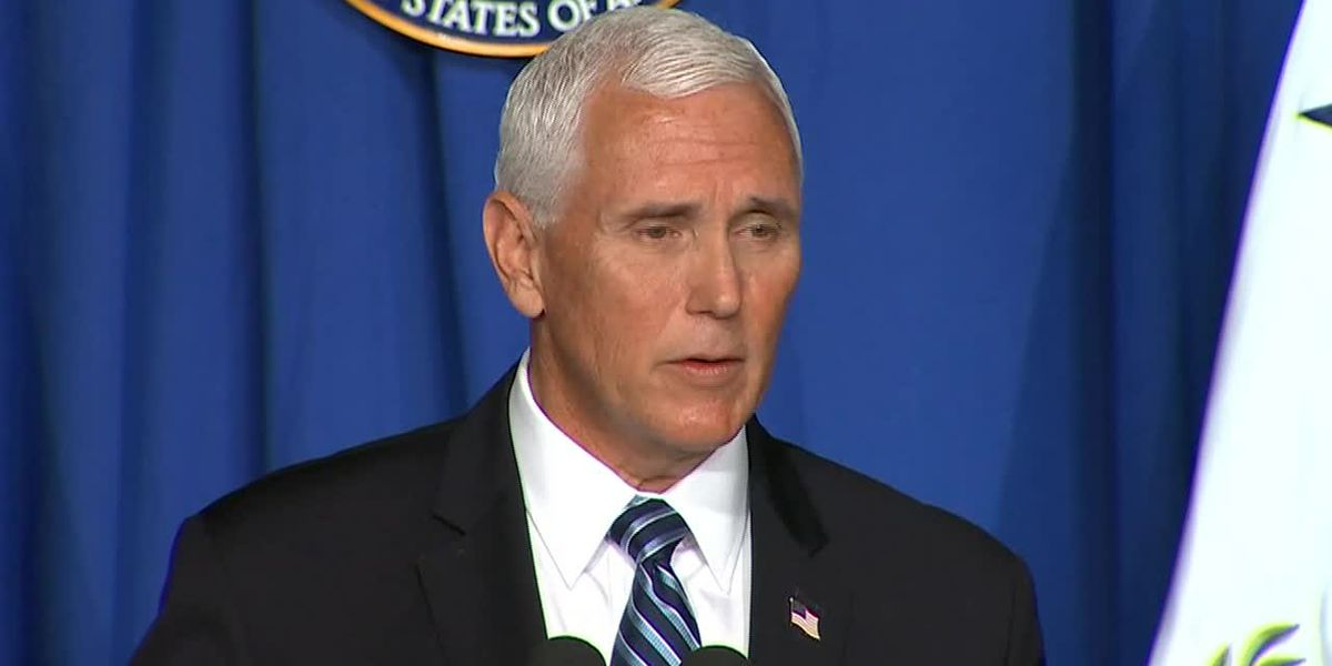 Vice President Mike Pence to visit Baton Rouge Tuesday for discussion on fight against COVID-19