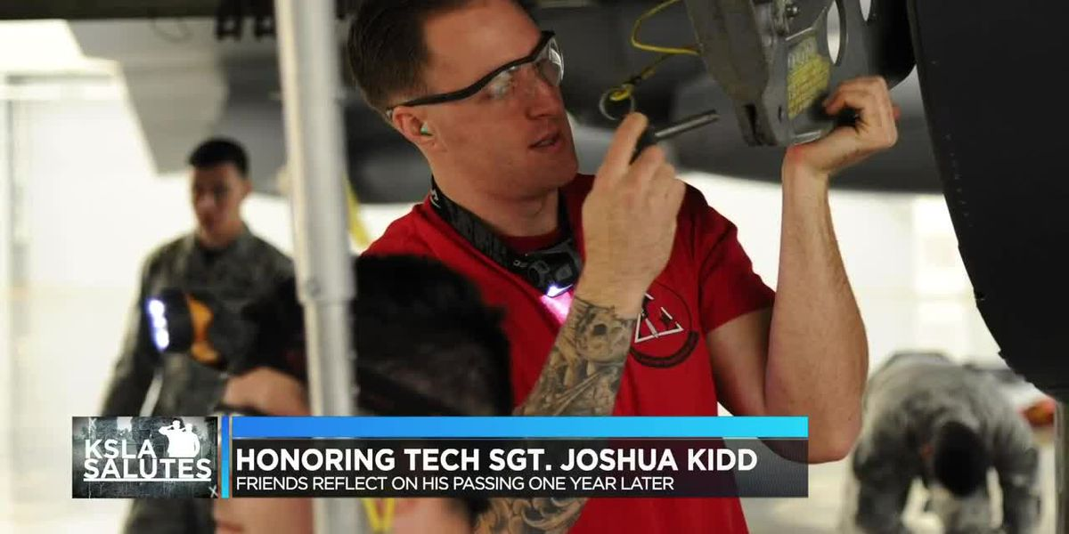 A year later, Tech Sgt. Joshua Kidd's spirit lives on with those who knew, worked with him
