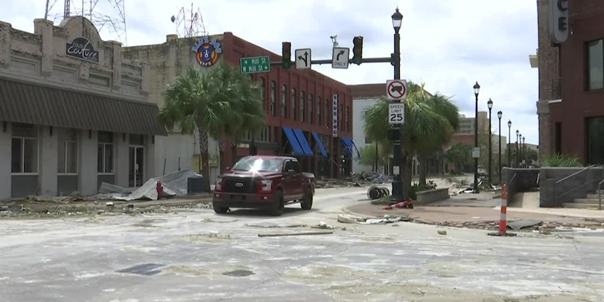 VIDEO: Laura causes worst damage to Holly Beach since Rita