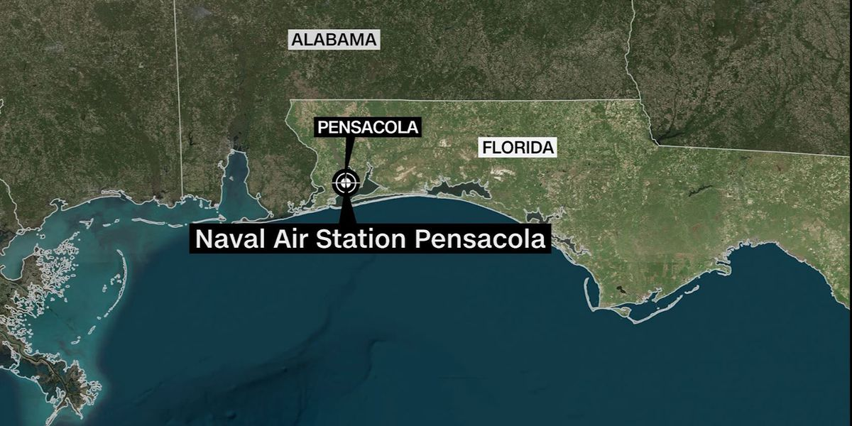 Shooter killed, at least 11 hurt at Pensacola Navy base
