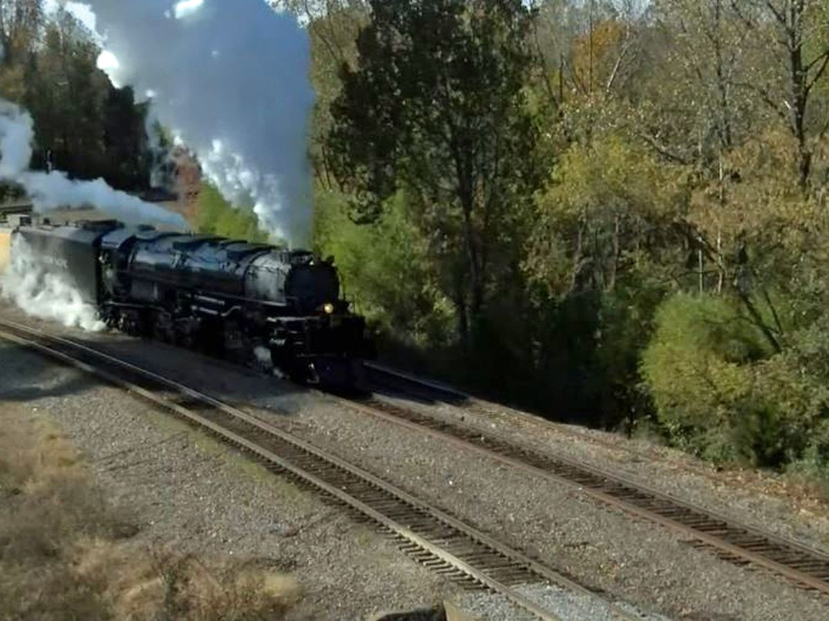 "Union Pacific's ""Big Boy"" treks across the ArkLaTex"