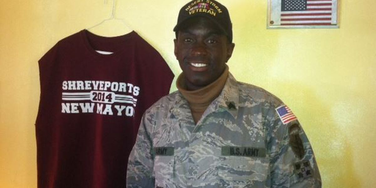 Shreveport mayoral hopeful comes clean about military service