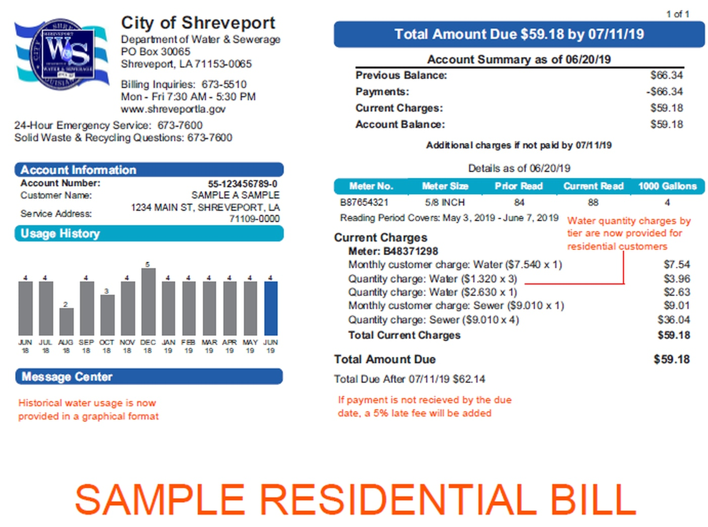 Shreveport to roll out new water billing system