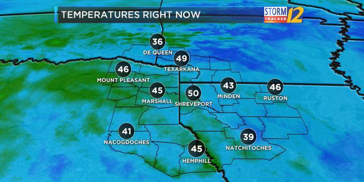 Expect chilly start for the week, chance of rain for Halloween