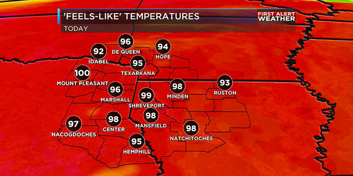 Toasty for Labor Day but a cool down may be on the way