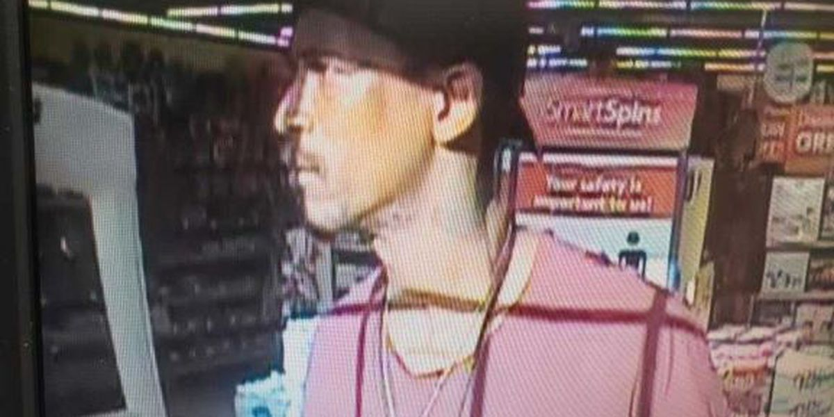 ON CAMERA: Police search for theft suspect