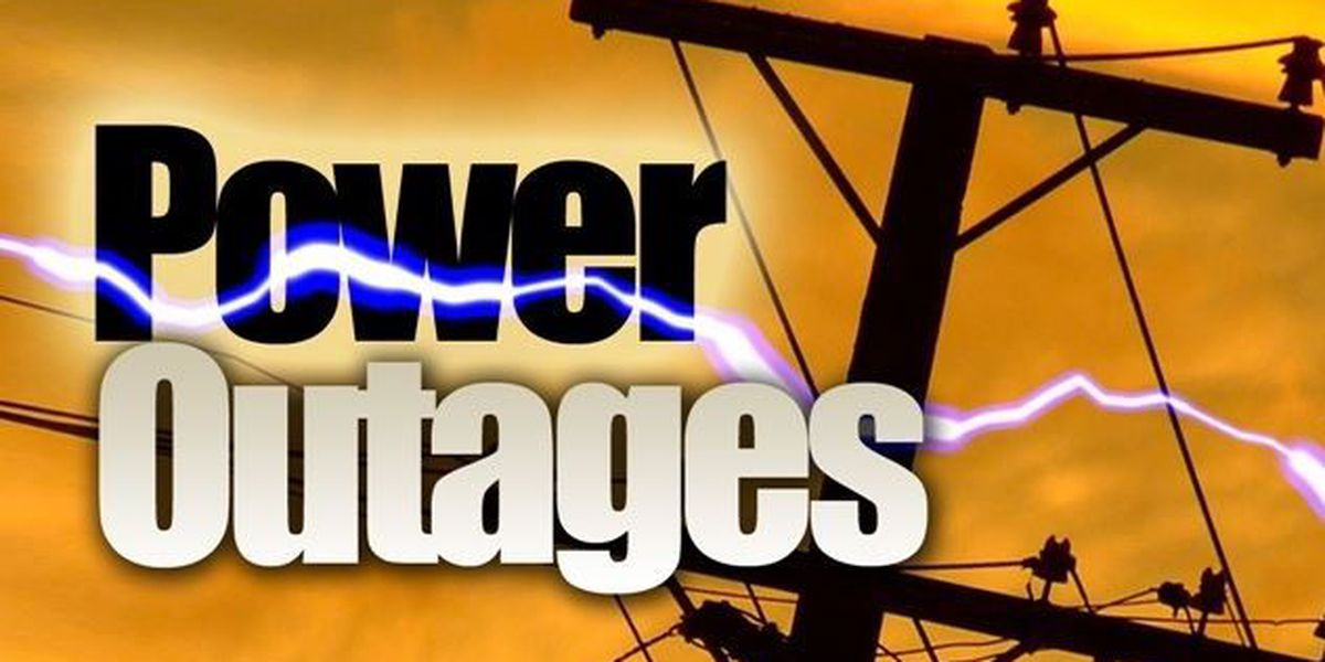 Crews working to restore power in southeast Shreveport
