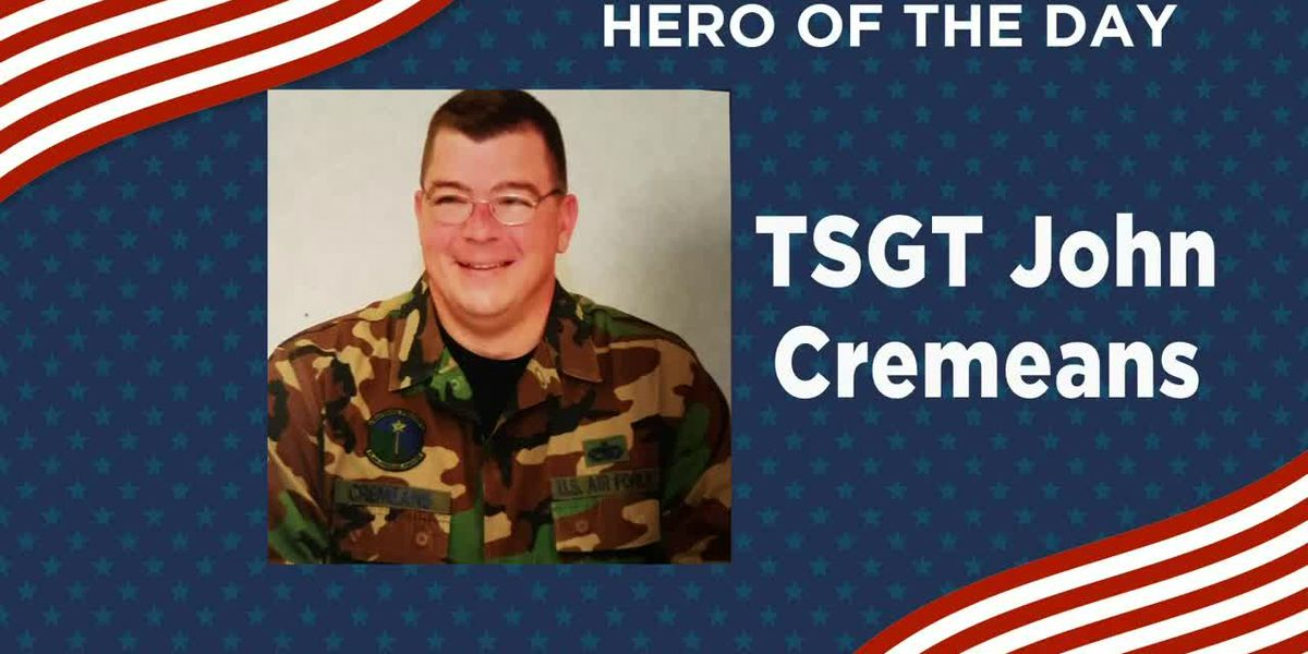 KSLA Salutes | Hero of the day: TSGT John Cremeans