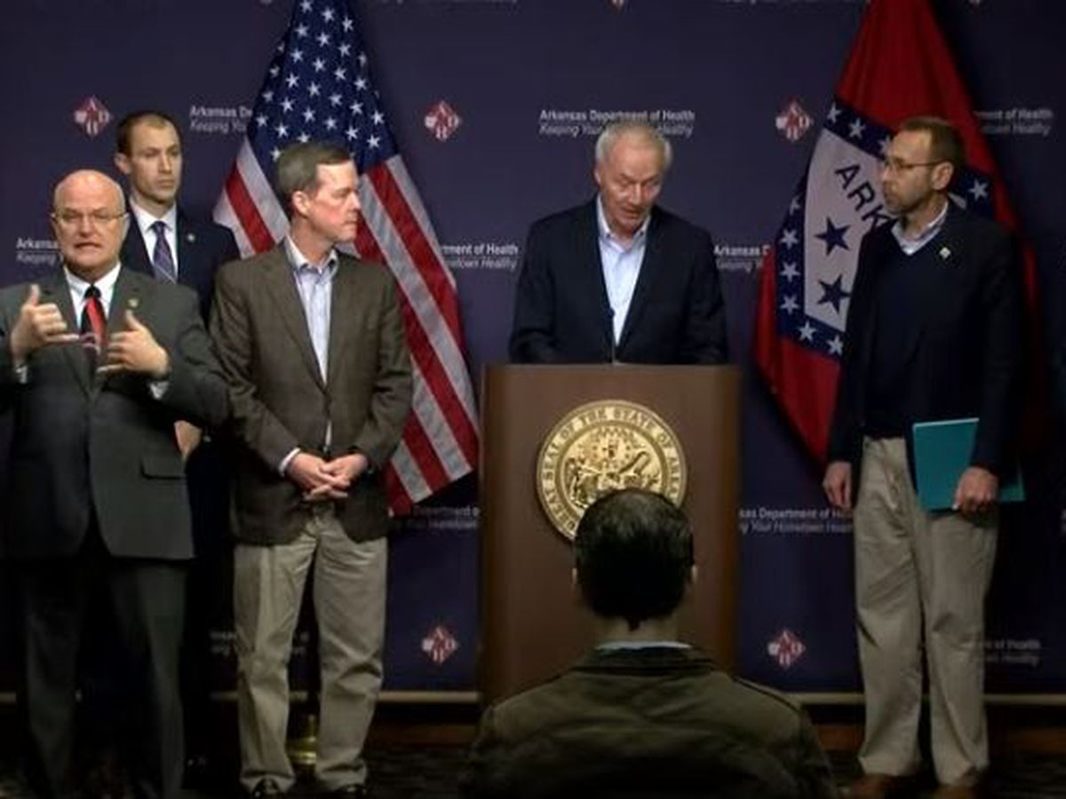 LIVE: Gov. Asa Hutchinson and the Arkansas Health Department gives daily COVID-19 update - 4/4