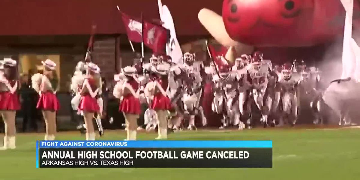 102-year-old Texarkana football rivalry canceled for 2020