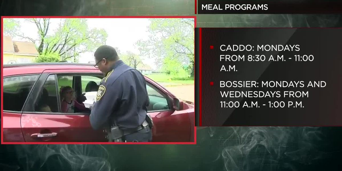 Caddo and Bossier meal program hours for students