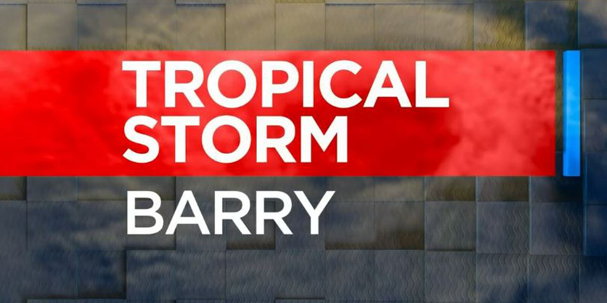 Tropical Storm Barry update and its potential impact on the ArkLaTex