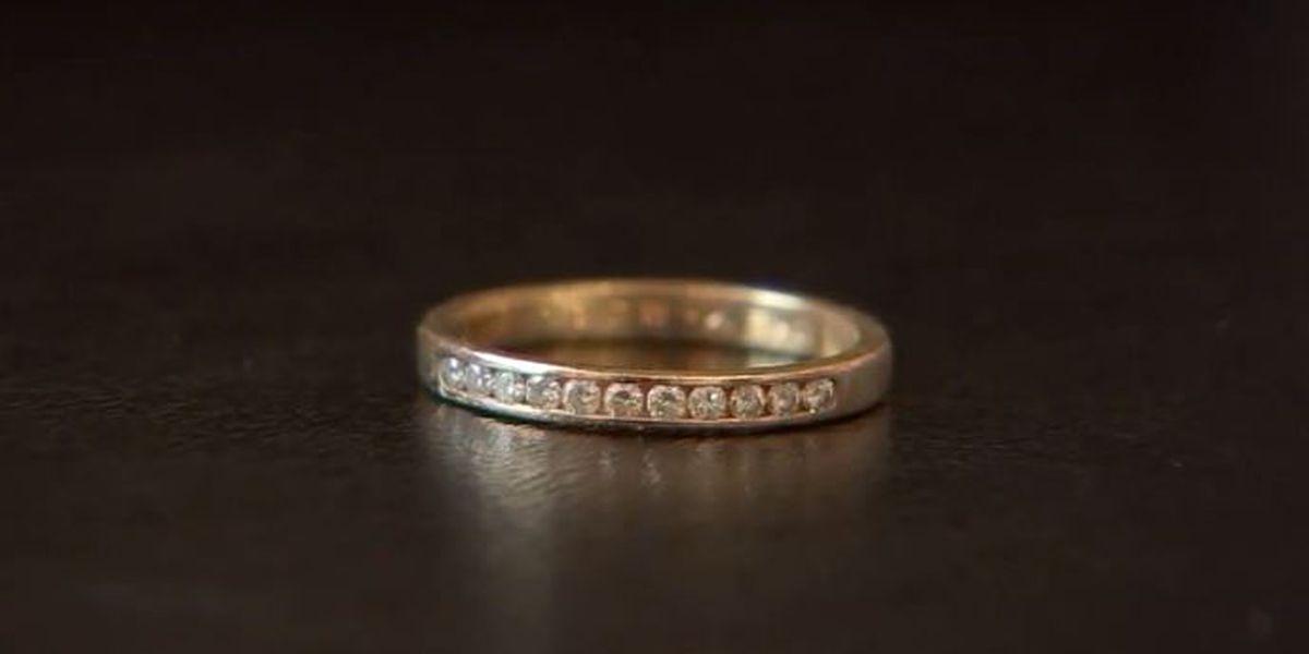 Woman's diamond ring, flushed down toilet 9 years ago, resurfaces thanks to city employee