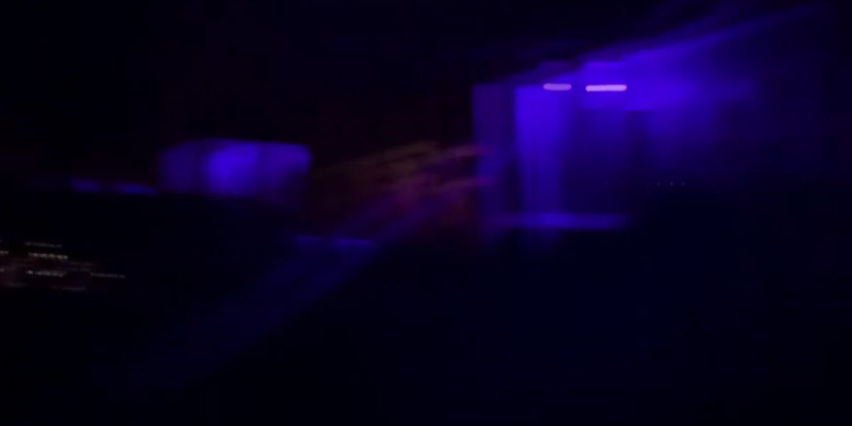 Viewer video of Officer William Buechner's neighborhood shows a sea of blue lights