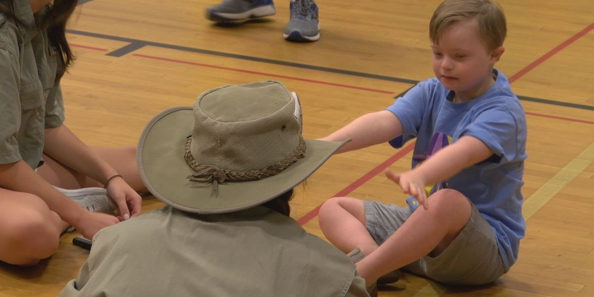 Camp Tiger provides a fun time for some special people