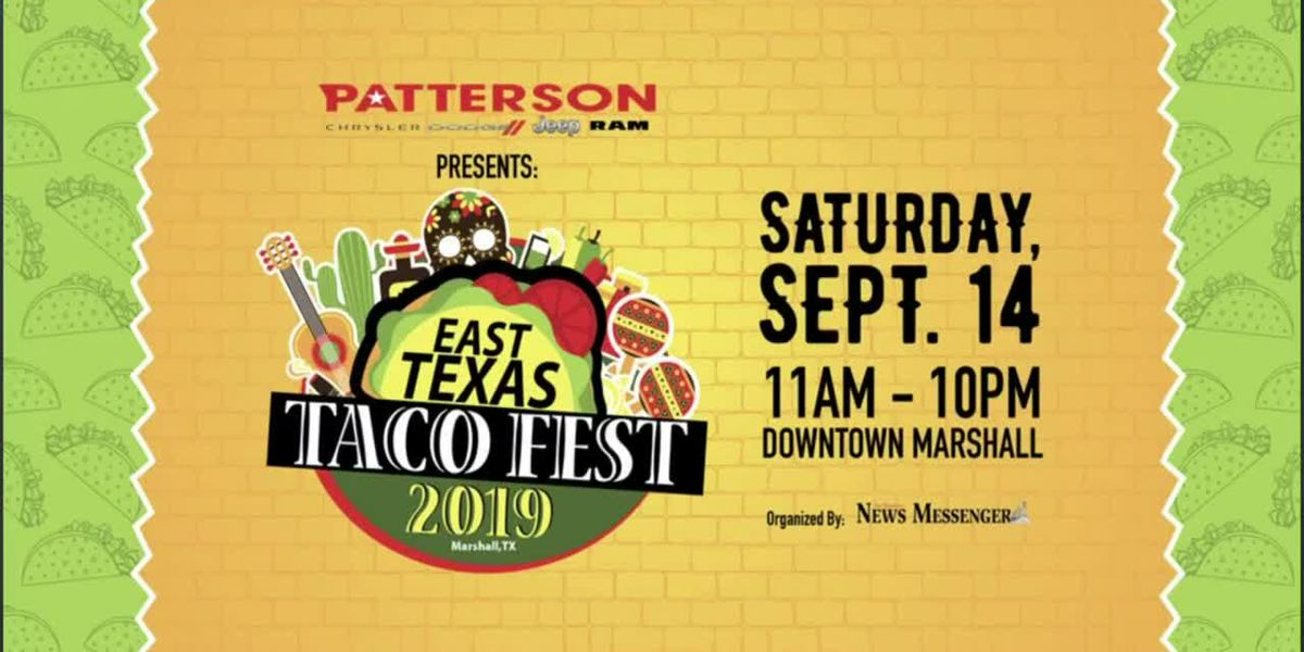 IN STUDIO: East Texas Taco Fest to take place in Marshall