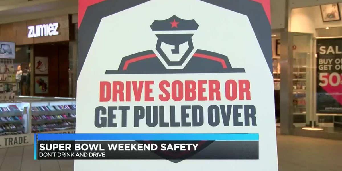 Louisiana State Police gives warning about Super Bowl drinking and driving
