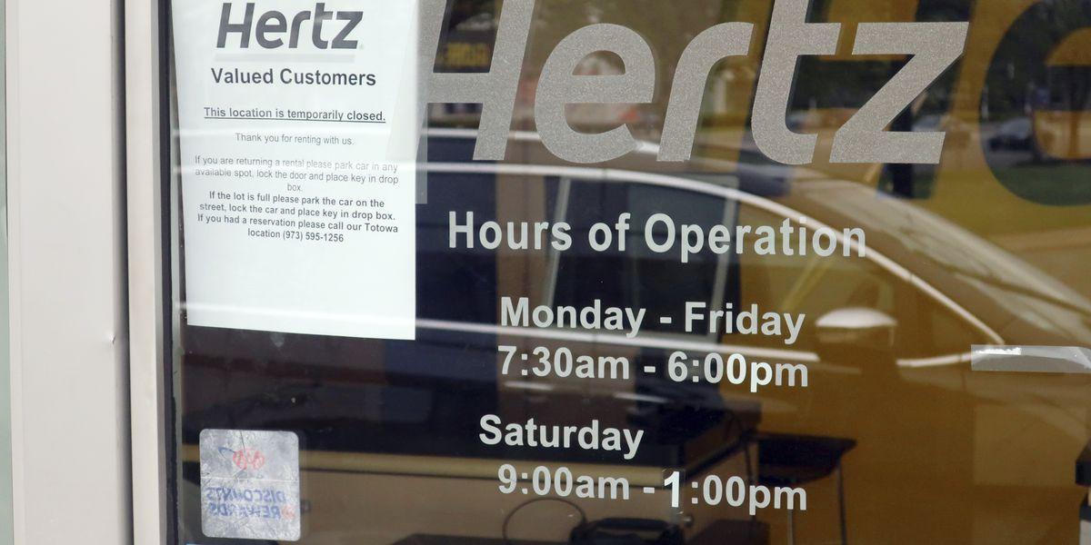 Debt and coronavirus push Hertz into bankruptcy protection