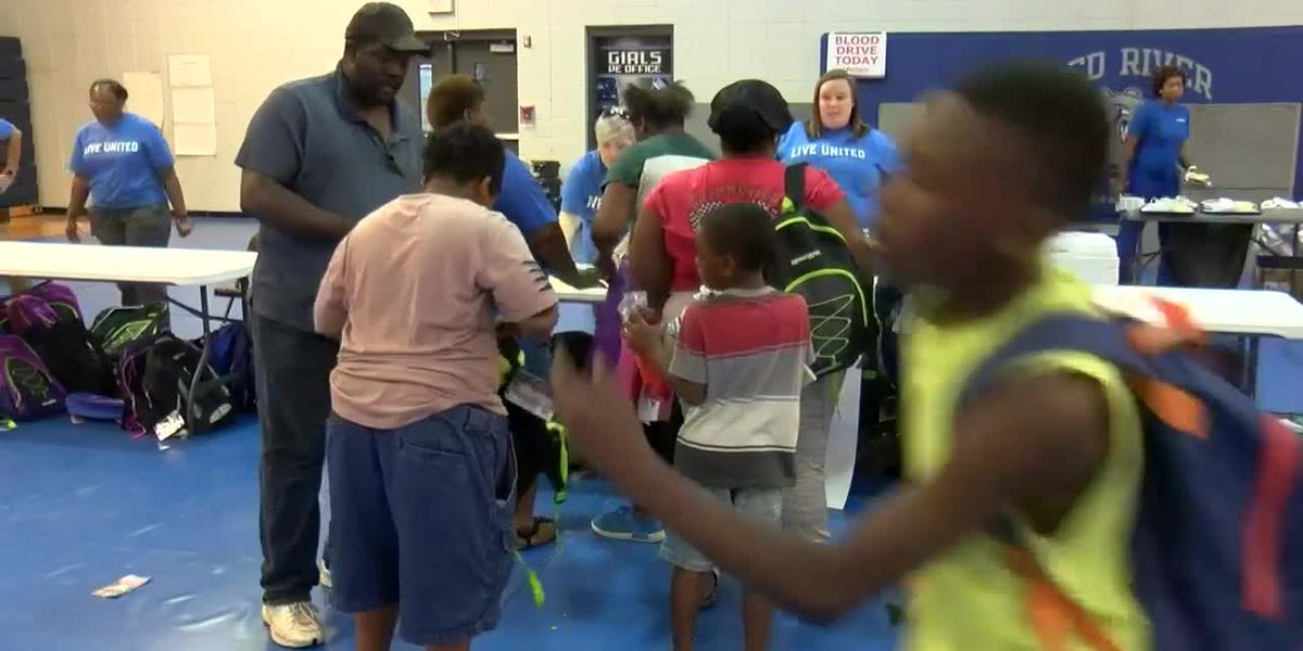 Back-to-School Bash helps Red River Parish students