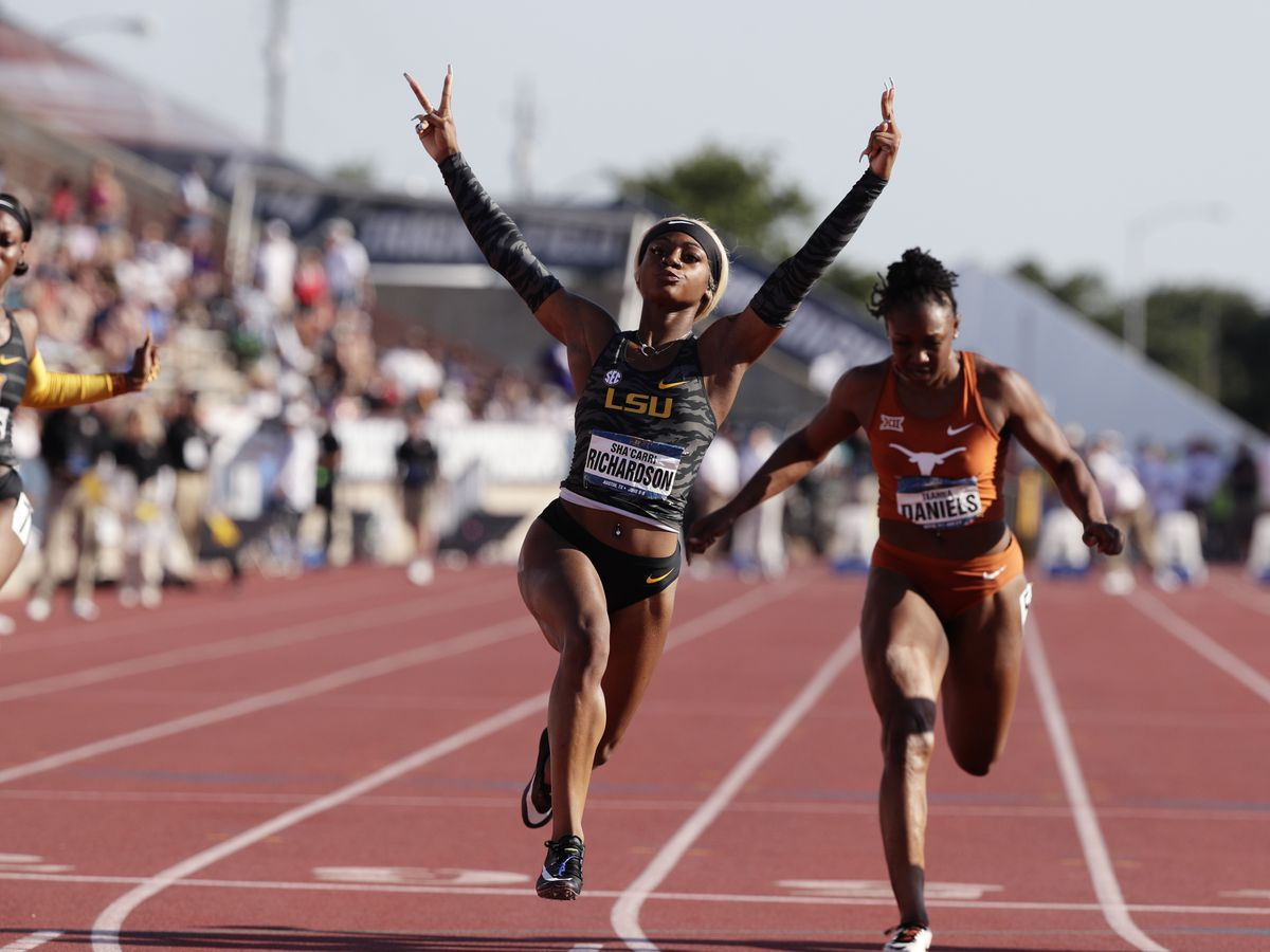Former LSU track star becomes sixth fastest woman in world history