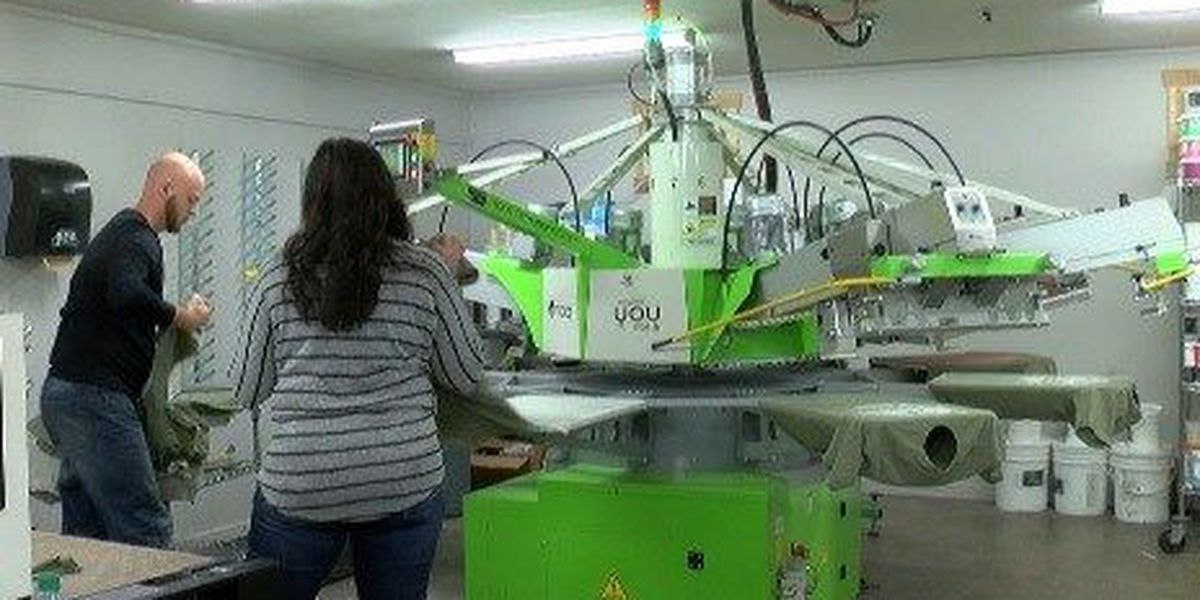 Shreveport screen printers use t-shirts to make a difference in Haiti