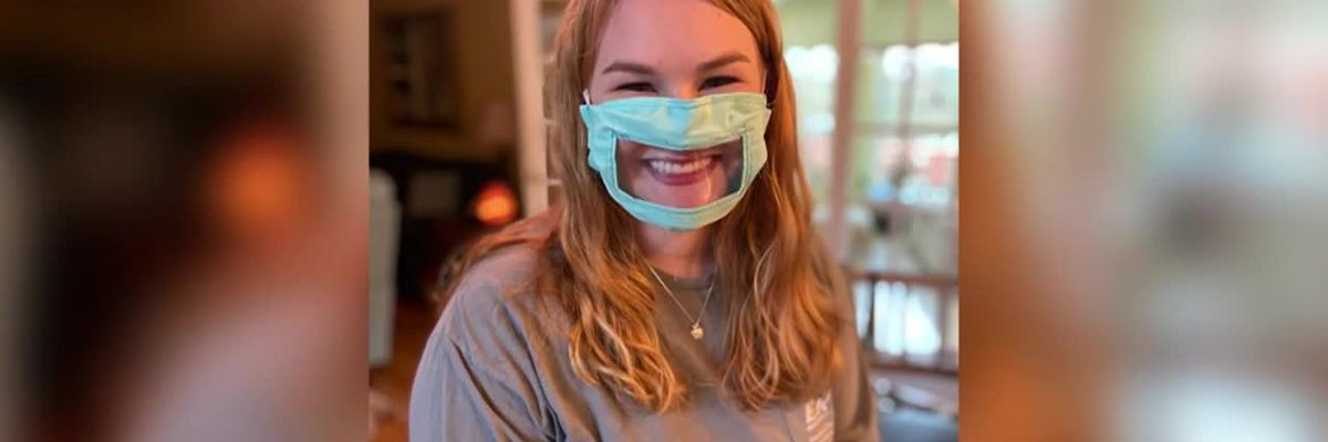 Kentucky student makes masks for deaf community